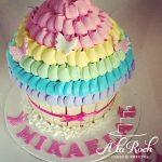 Rainbow Frill Giant Cupcake