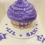 Swirl Giant Cupcake