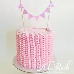 Ruffle Cake Newcastle Cake Decorator