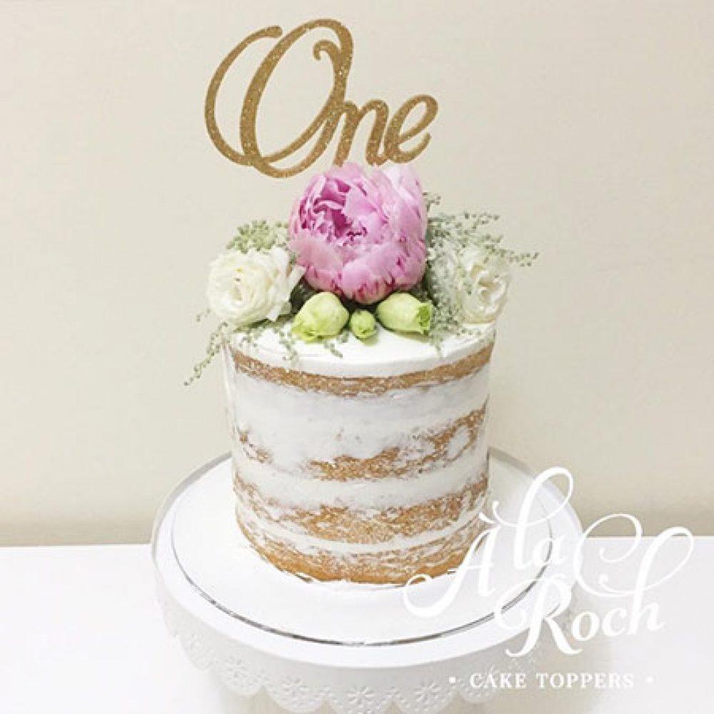 A la Roch Naked Cake