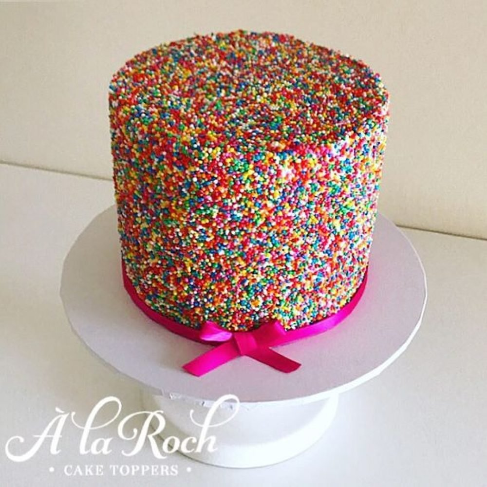 100's and 1000's Sprinkle Cake