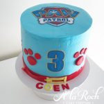 Paw Patrol Frosted Cake