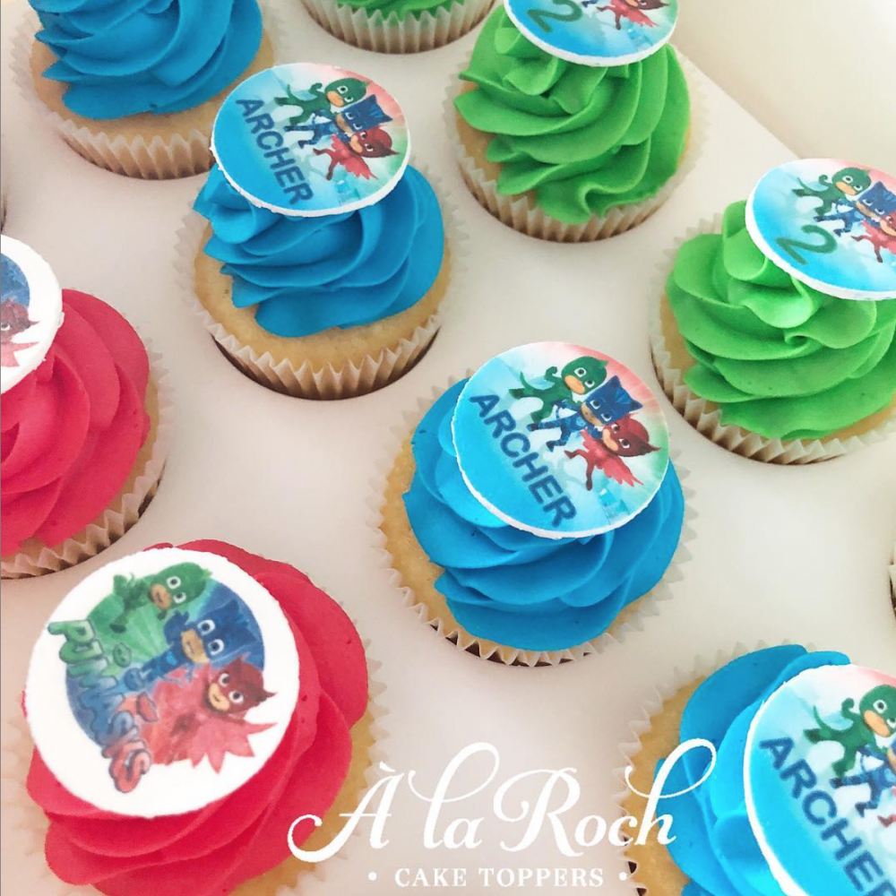 Corporate and Birthday Cupcakes Edible image cake topper Newcastle Cake Decorator