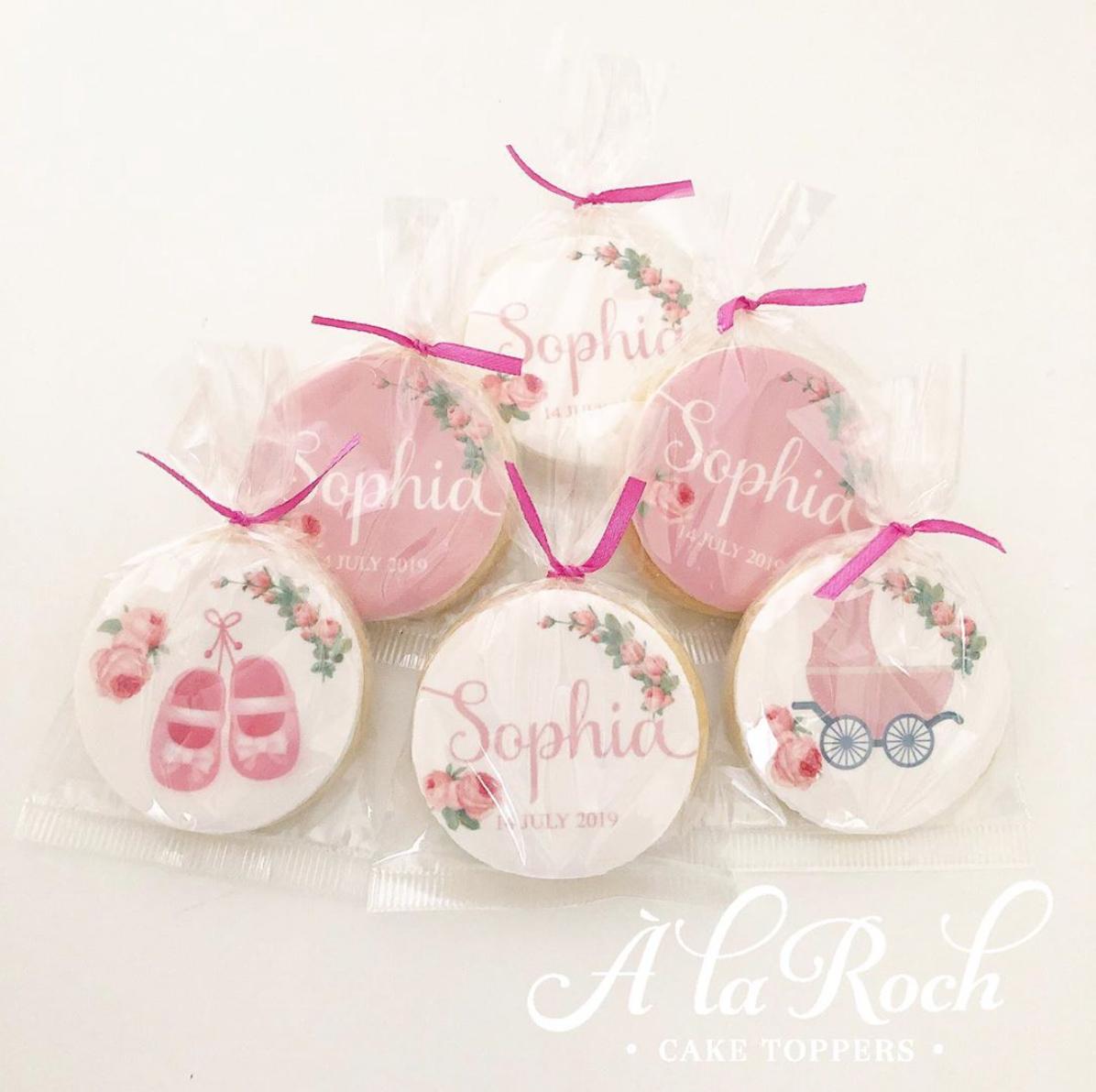 Baby Shower Edible Image Sugar Cookies